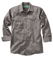 Red Kap Mens 100% Cotton Long Sleeve Uniform Shirt