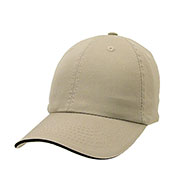 Unconstructed Chino Washed Cotton Twill Sandwich Cap