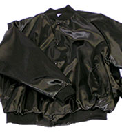 Adult Mens Pro-Satin Solid Baseball Jacket with Quilt Lining