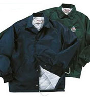 Men's Oxford Quilted Lined Windbreaker