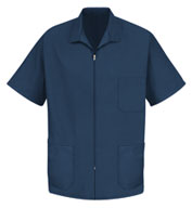 Red Kap Men's Zipper Front Smock
