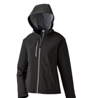 Ladies Soft Shell Jacket With Hood