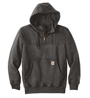 Carhartt Men's Heavyweight Quarter Zip Hooded Sweatshirt