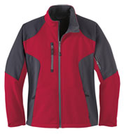 Ladies' Color-Block Soft Shell Jacket