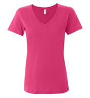 Anvil Ladies' Sheer V-Neck T-Shirt