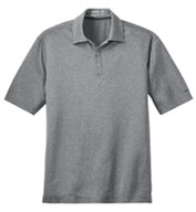 Nike Golf Mens Dri-FIT Heather Polo