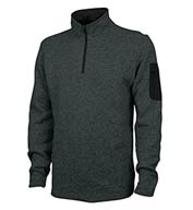 Charles River Mens Soft Heathered Fleece Pullover