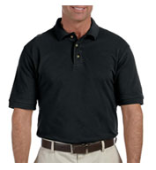 Harriton Men's Tall Ringspun Cotton Pique Short-Sleeve Polo