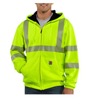 Carhartt ANSI Class 3 High-Vis Men's Thermal Lined Sweatshirt