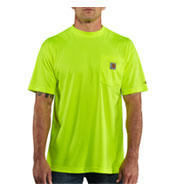 Men's Force™ Color Enhanced HI Visibility Short Sleeve T-shirt from Carhartt