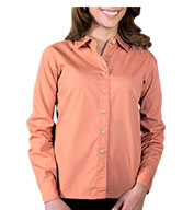 Ladies' Long Sleeve Stain Release Poplin