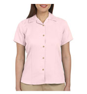 Harriton Ladies' Bahama Cord Camp Shirt
