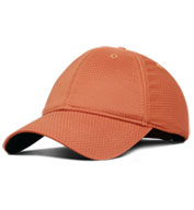 Moisture Wicking Unstructured Cap with Hook and Loop Back