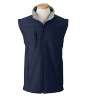 Men's Wind and Water Resistant Soft Shell Vest