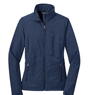 Eddie Bauer® Ladies Shaded Crosshatch Soft Shell Jacket
