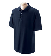 Men's Pima Piqué Short-Sleeve Polo in Tall Sizes
