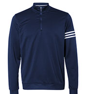 Adidas Golf Men's ClimaLite® 3-Stripes Pullover