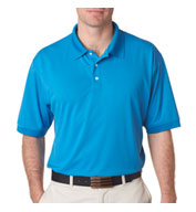 UltraClub Men's Platinum Performance Pique Polo