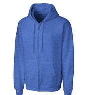 Basic Fleece Full Zip Men's Hoodie