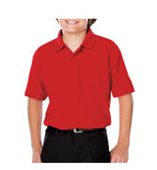 Youth Moisture Wicking Value Polo