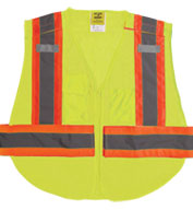 Adult 5 Point Breakaway Mesh Vest