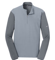 Nike Golf Men's Dri-FIT Fabric Mix 1/2-Zip Cover-Up