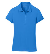 Nike Golf Ladies Dri-FIT Solid Icon Pique Polo