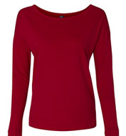 Next Level Ladies The Terry Long-Sleeve Scoop