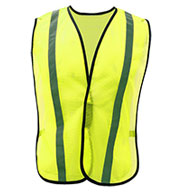 Adult Non-ANSI Safety Vest with Elastic
