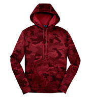 CamoHex Fleece Hooded Adult Pullover