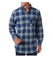 Backpacker Men's Yarn-Dyed Flannel Shirt