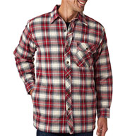 Backpacker Men's Flannel Jacket with Quilt Lining