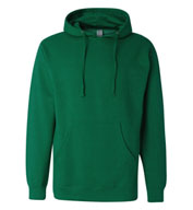 Adult Midweight Hooded Sweatshirt