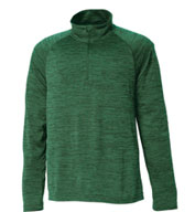 Charles River Men's Space Dye Performance Pullover