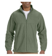 Men's Tall Full-Zip Fleece Jacket
