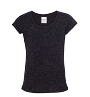 J America Youth Girl's Glitter Tee
