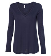 Bella + Canvas Women's Flowy Long Sleeve Tee