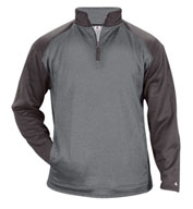 Sport Heather Tonal Adult 1/4 Zip