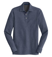 Men's Interlock Polo Cover-Up