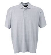 Vansport™ Pro Mini-Gingham Men's Polo