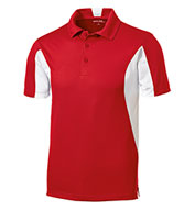 Men's Tall Side Blocked Micropique Sport-Wick® Coaches Polo Shirt