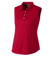 Ladies' Sleeveless Clare Polo