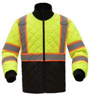 Light Weight Quilted Two Tone Men's Jacket