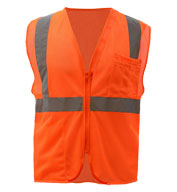 Adult Mesh Zip Safety Vest