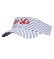 Lightweight Cotton Seersucker Visor