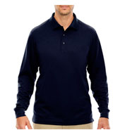 Men's Tall Pinnacle Performance Long-Sleeve Polo
