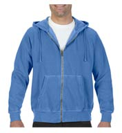 Comfort Colors Adult 9.5oz Full Zip Hooded Sweatshirt