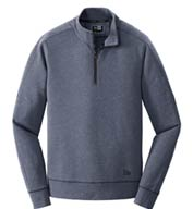 New Era® Tri-Blend Fleece 1/4 Zip Pullover