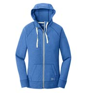New Era® Ladies' Sueded Cotton Full-Zip Hoodie