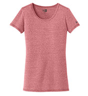 New Era® Ladies Tri-Blend Performance Scoop Tee